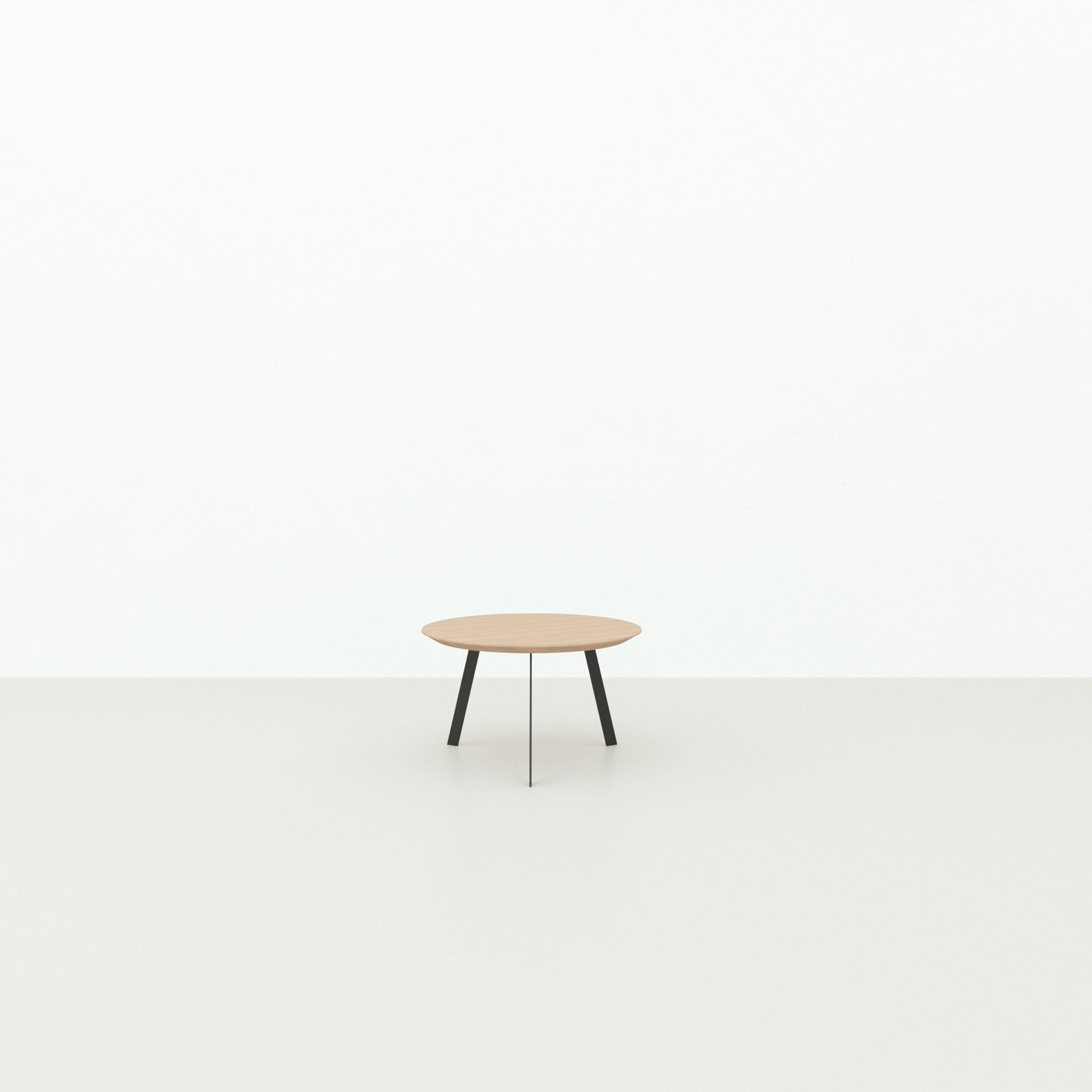 Design salontafel | New Co Coffee Table 90 Square Black | Oak hardwax oil natural light 3041 | Studio HENK |