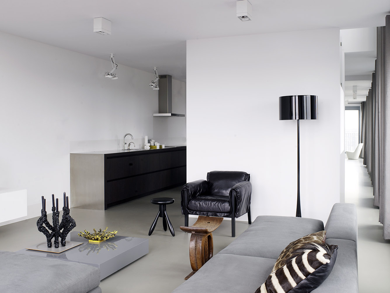 KENT armchair at Amsterdam canal apartment