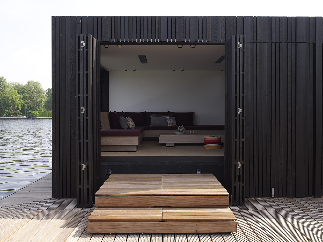 Dutch Floating Home