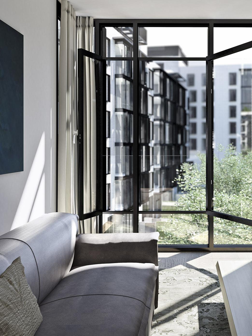 Luxury condominiums Oosten in New York City