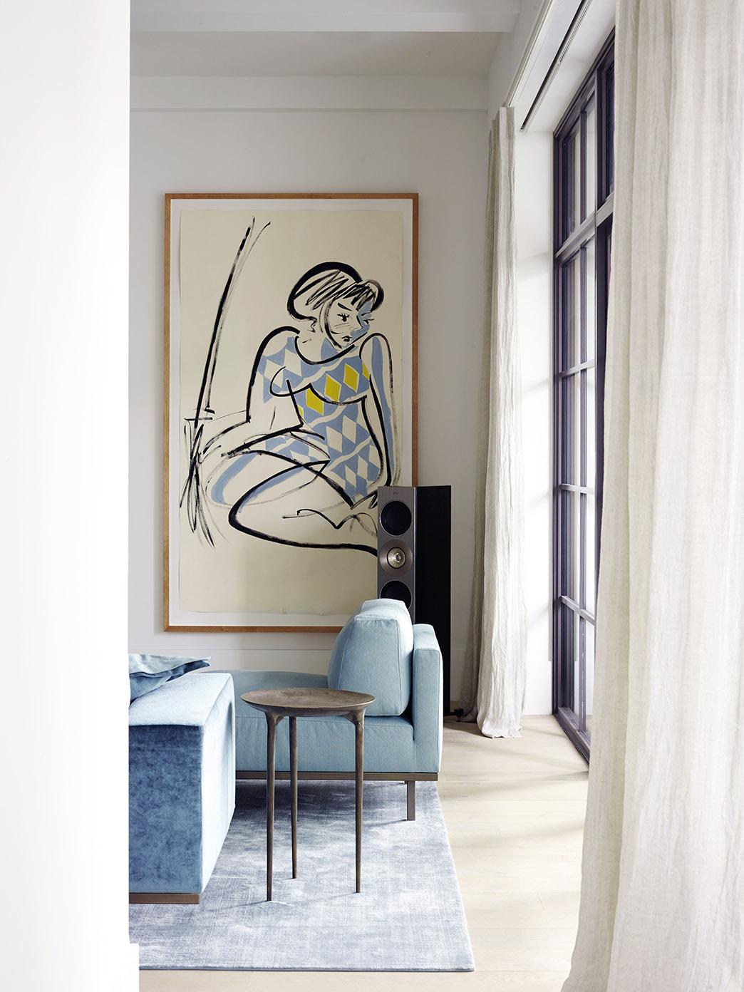 DON armchair and sofa at metropolitan penthouse