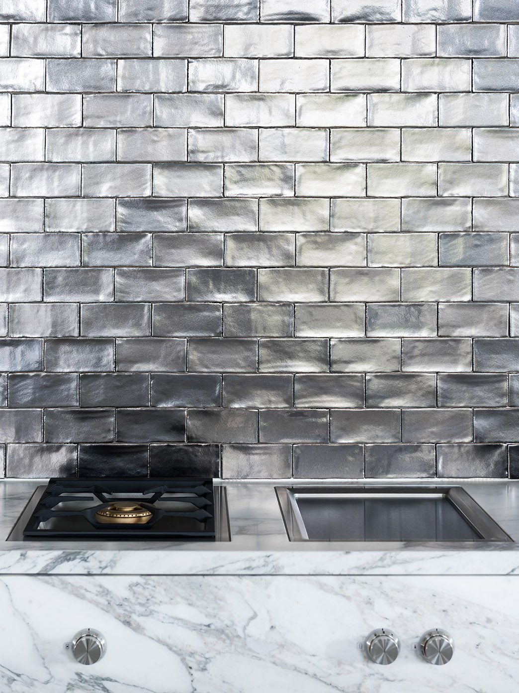 BRUTAL kitchen and tiles and stones by Douglas & Jones