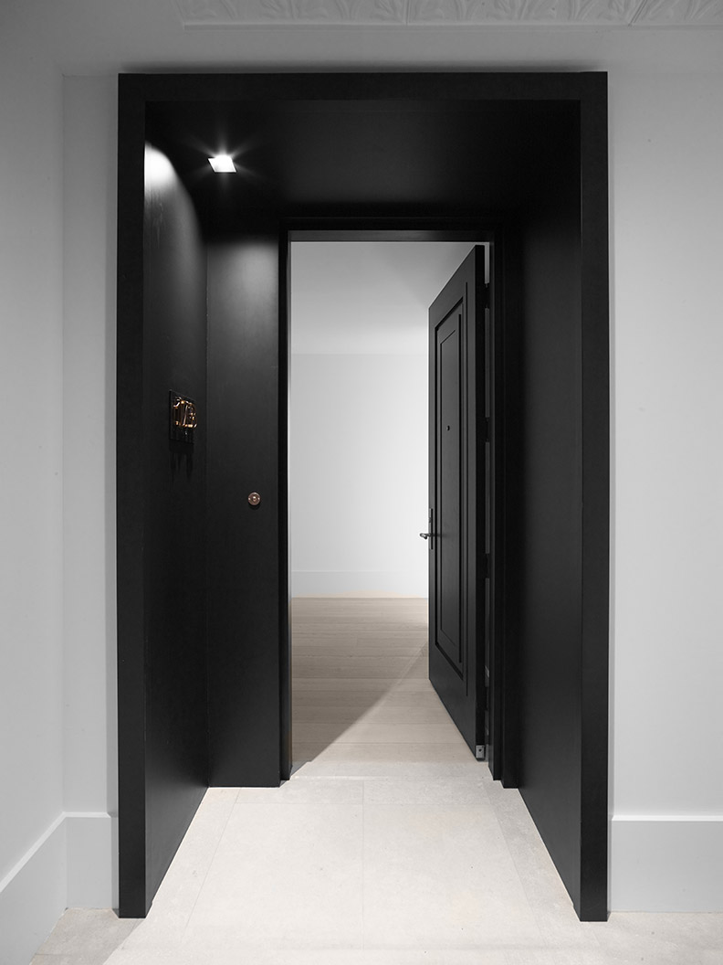 Hardware ONE by Formani and doors by Bod'or at metropolitan penthouse