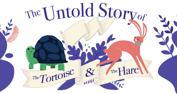 Tortoise and hare top banner image