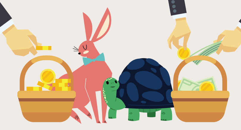 Savings made simple by the tortoise and the hare top banner image