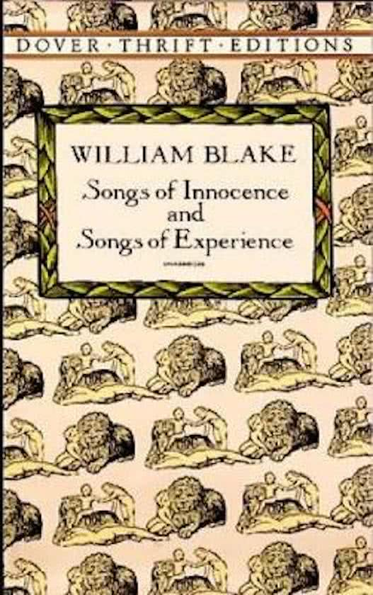 an analysis of william blakes books of poetry the songs of innocence and the songs of experience