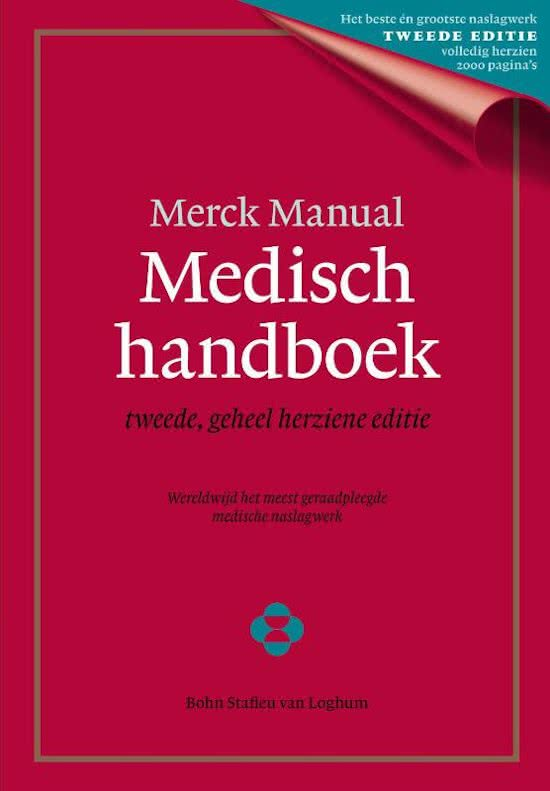 Merck Manual Medisch handboek