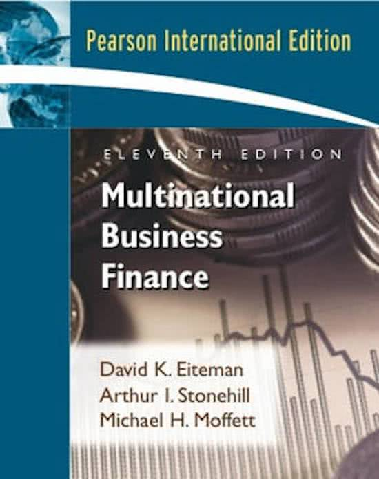 e-Study Guide for Multinational Business Finance, textbook ...