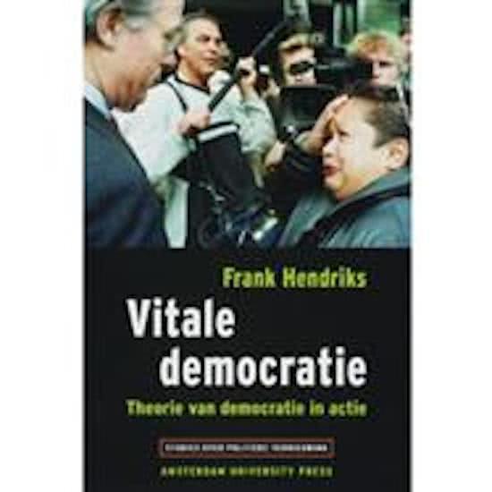 Studies over politieke vernieuwing - Vitale democratie