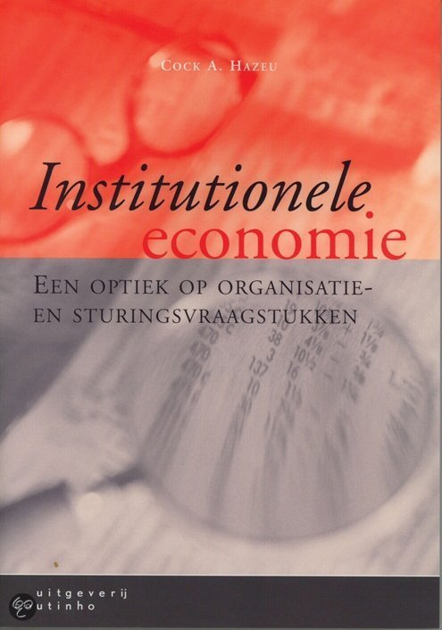 Institutionele economie