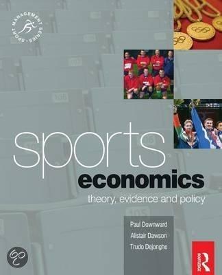 The Sports Economics