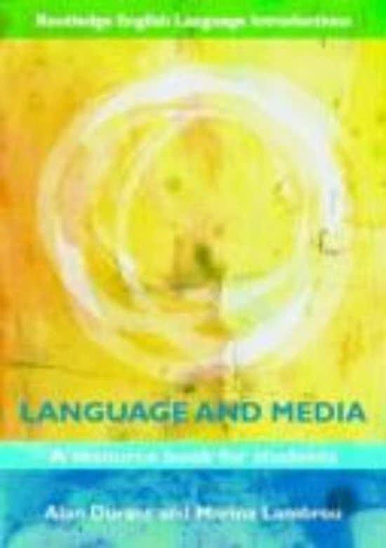 Language and Media