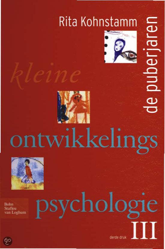 Kleine ontwikkelingspsychologie / 3 De puberjaren
