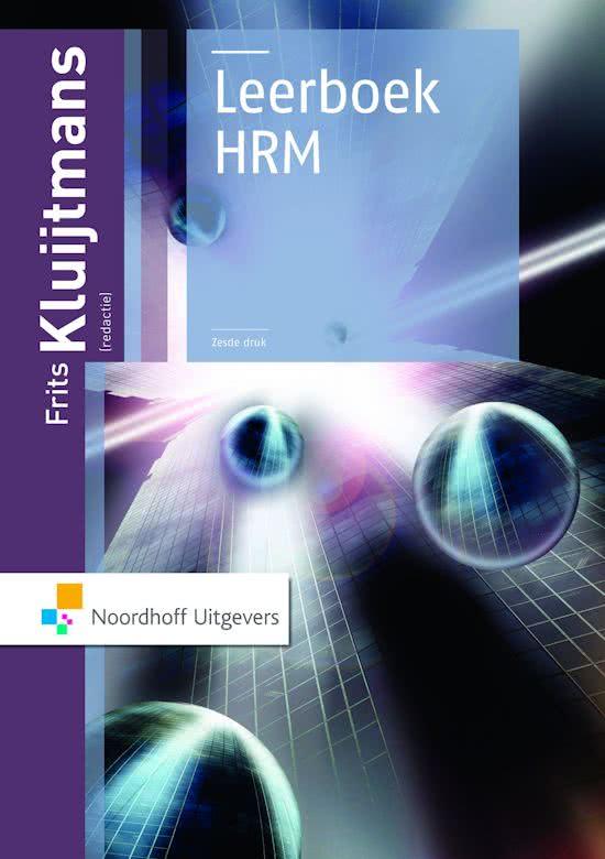 Leerboek HRM
