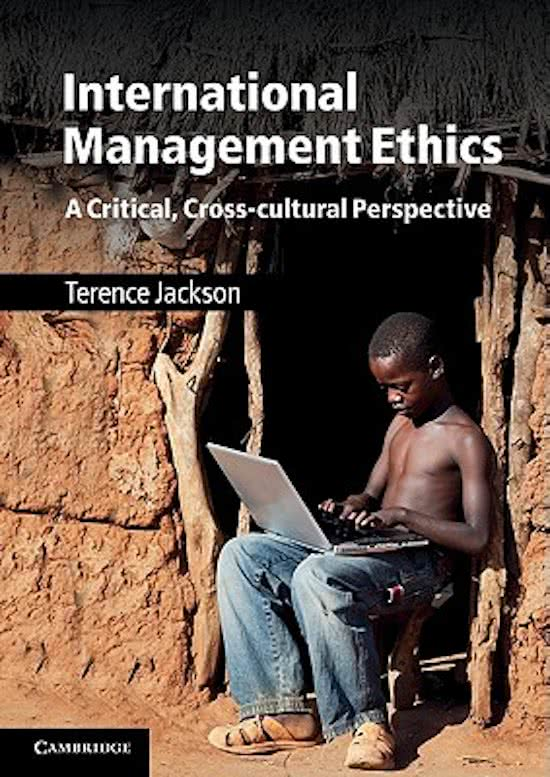 International Management Ethics