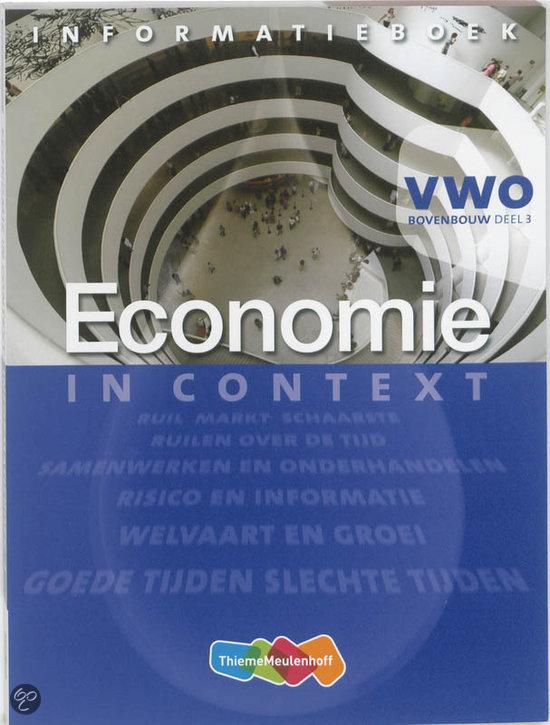 Economie in Context VWO Informatieboek 3