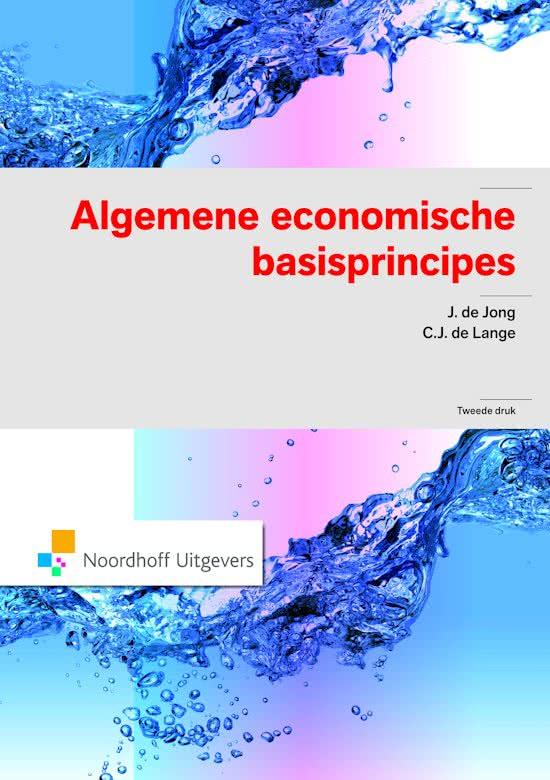 Algemene economische basisprincipes
