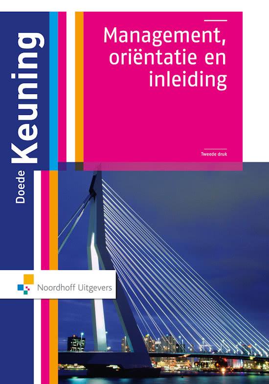 Management Orientatie en inleiding