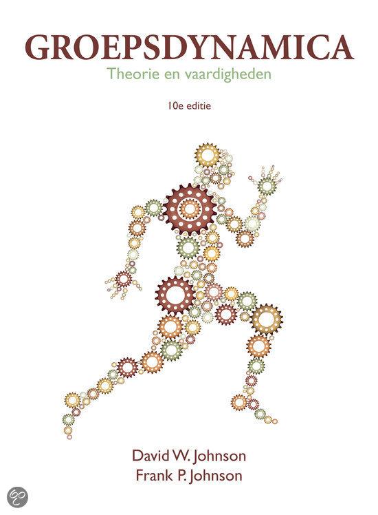 Groepsdynamica  / deel Theorie en Vaardigheden