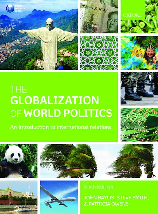 the globalization of world politics an baylis The globalization of world politics by john baylis, 9780199656172, available at book depository with free delivery worldwide.