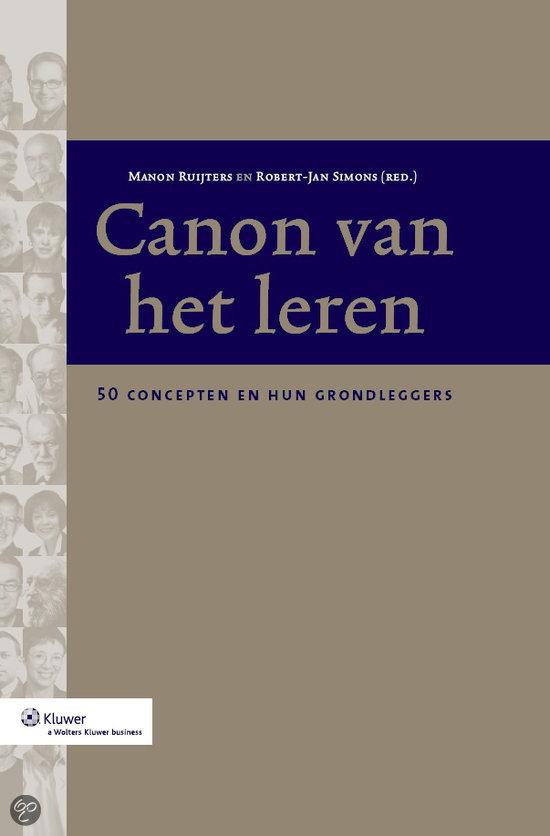 De canon van het leren