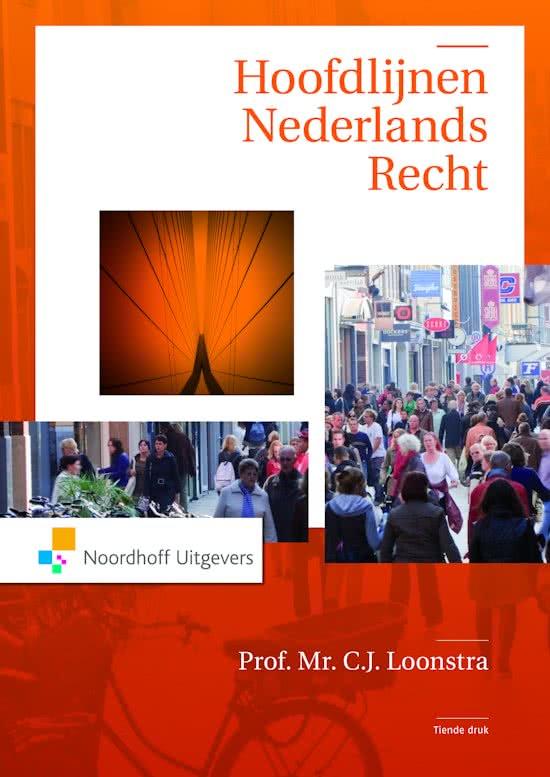Hoofdlijnen Nederlands recht