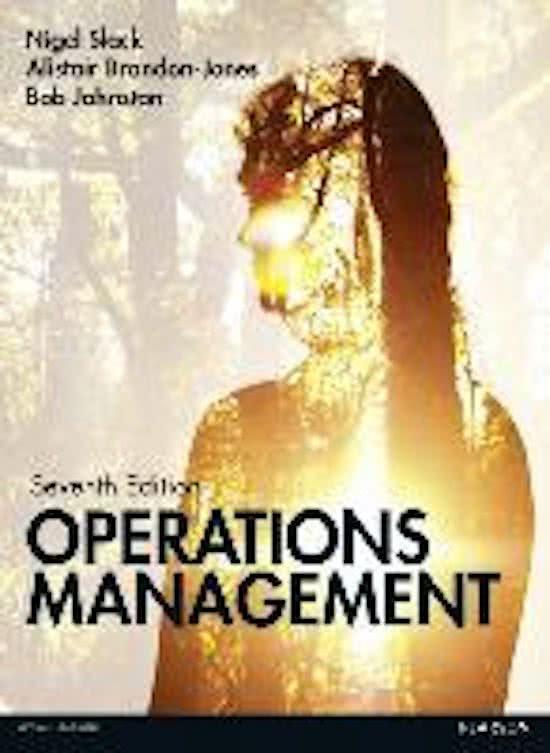 Slack: Operations Management 7th edition MyOMLab pack