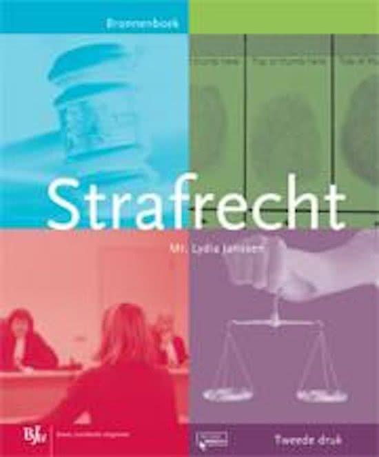 Strafrecht -  Bronnenboek