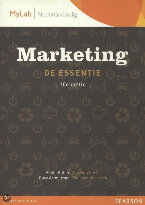 MARKETING DE ESSENTIE 10E EDITIE PDF DOWNLOAD