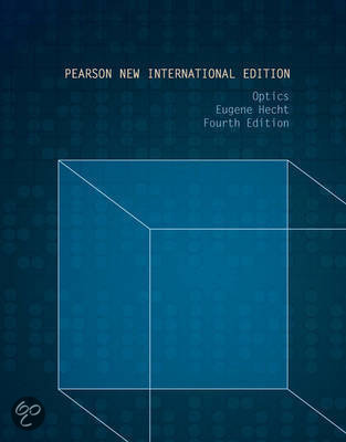 Optics: Pearson  International Edition