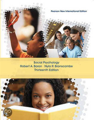 Social Psychology: Pearson  International Edition