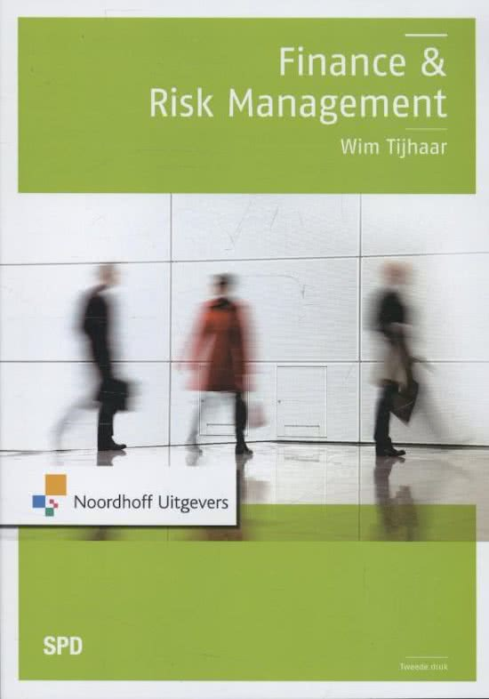 Finance en risk management