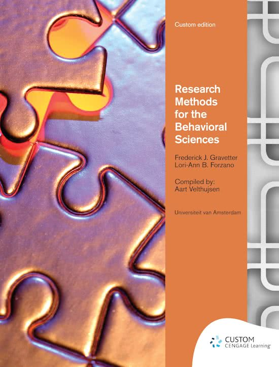 Custom Research Methods for the Behavioral Sciences