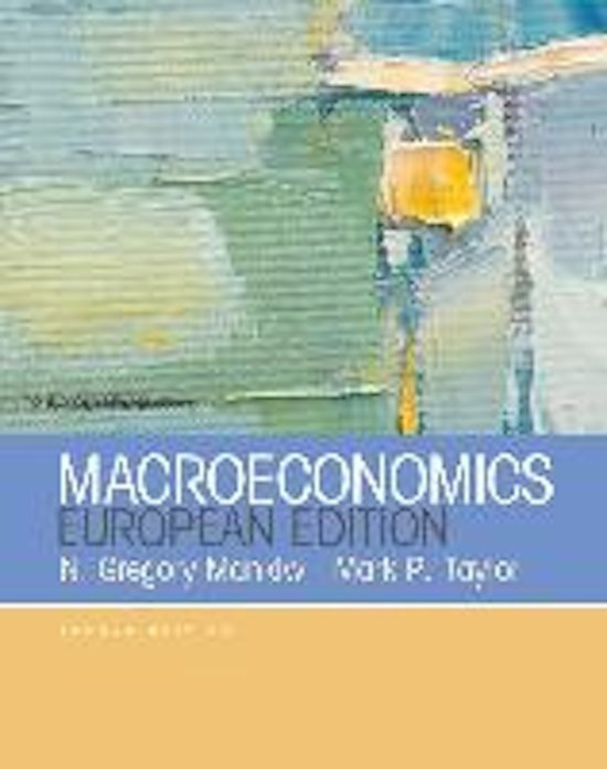 summary mankiw Summary principles of economics gregory mankiw 6th revised edition contents ten principles of economics how people make decisions how people interact how the.