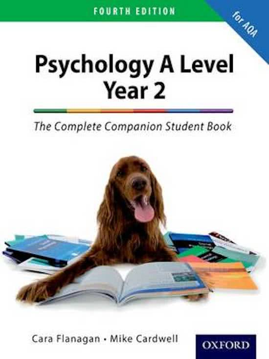 The Complete Companion for AQA Psychology A Level