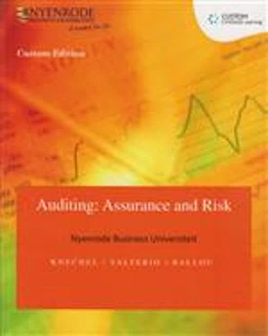 Custom Auditing: Assurance & Risk