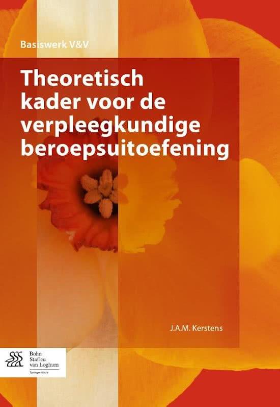 Basiswerk V&V Theoretisch kader voor de verpleegkundige beroepsuitoefening