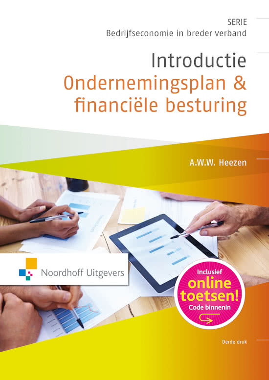 introductie ondernemingsplan Samenvattingen boek