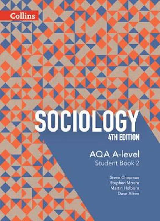 AQA A-level Sociology - Student Book 2