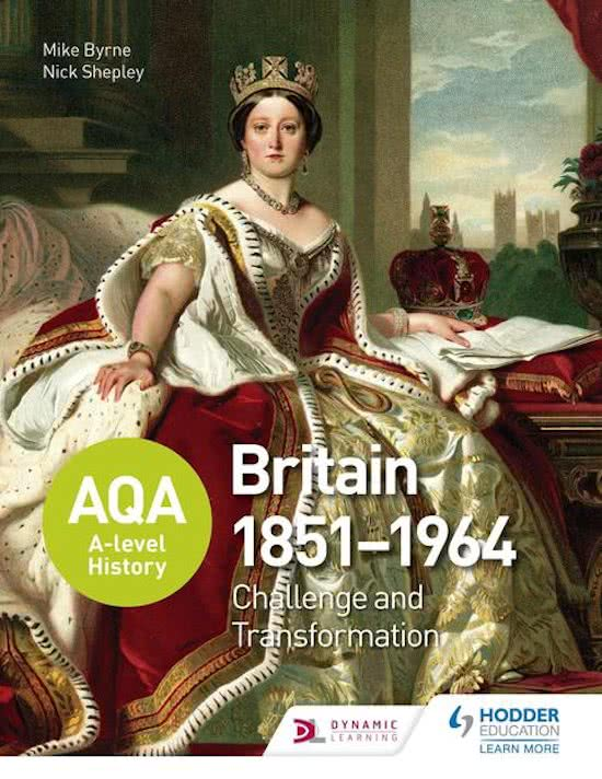 AQA A-level History: Britain 1851-1964: Challenge and Transformation