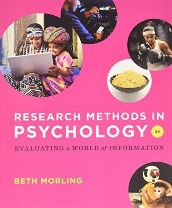 Research Methods in Psychology - Evaluating a World of Information 2e