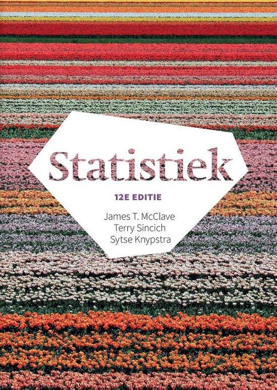Statistiek, 12e editie met MyLab NL toegangscode