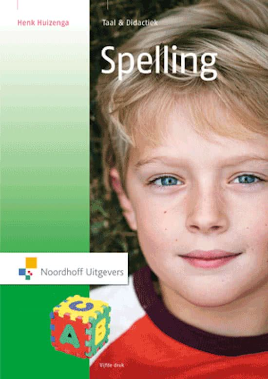 Taal & didactiek - Spelling