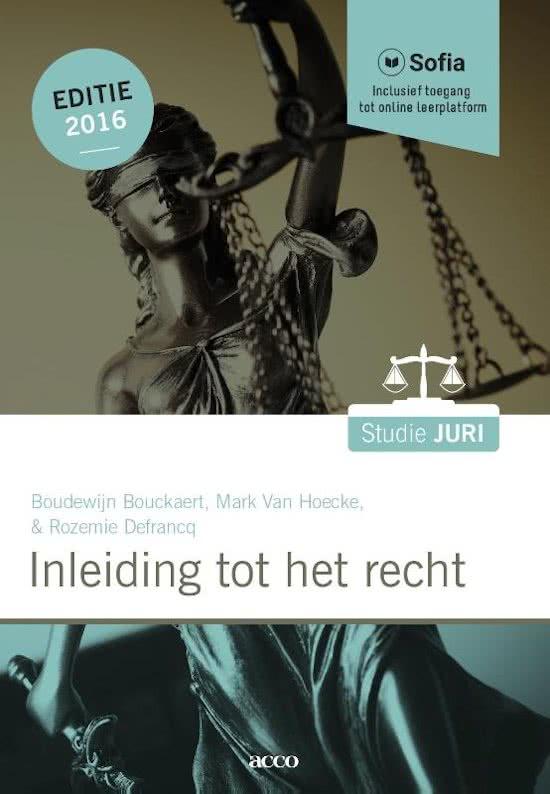 Inleiding tot het recht