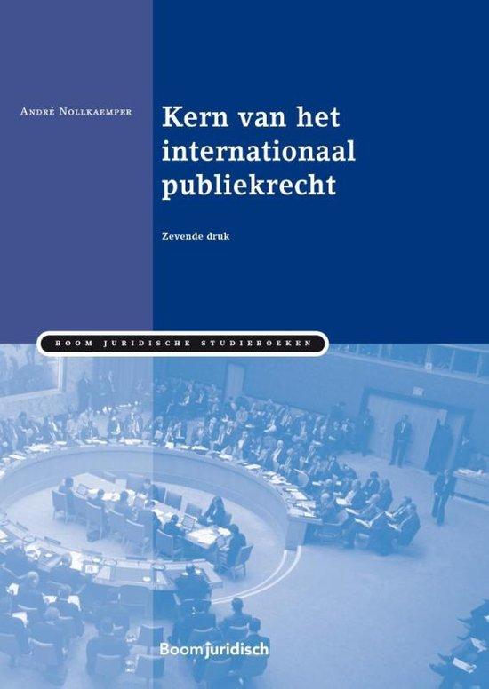 Boom Juridische studieboeken - Kern van het internationaal publiekrecht