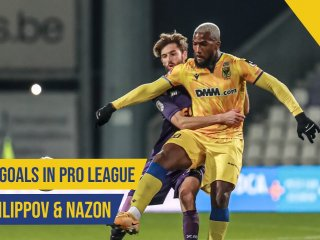 First Goals in Pro League | Filippov & Nazon | STVV