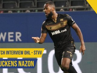 Post Match Interview OHL - STVV | Duckens Nazon | STVV