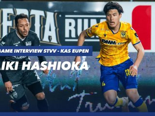 Post Match Interview STVV - KAS Eupen | Daiki Hashioka | STVV