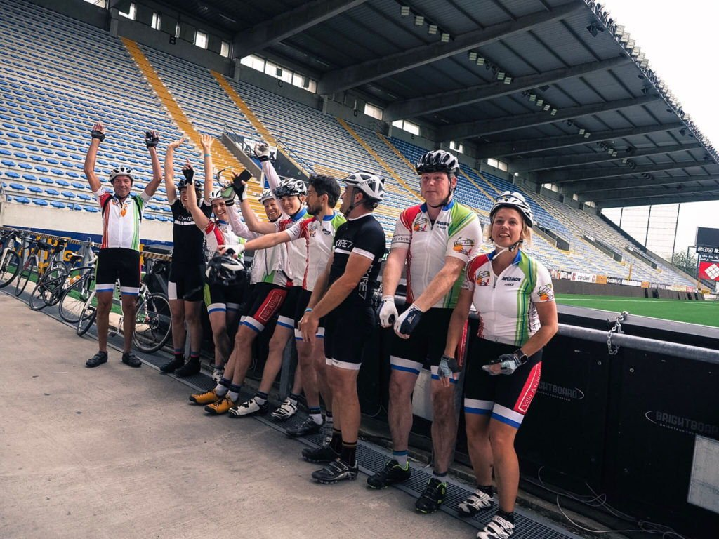 740 Kilometers of Cycling for Charity with Vélo Arena Tour