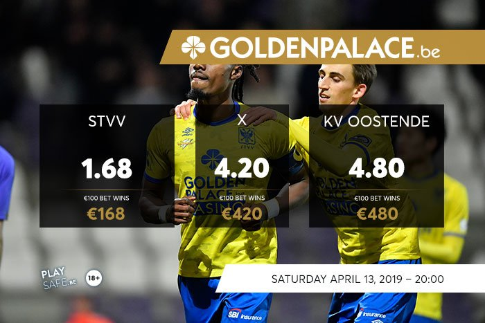 Bet with Golden Palace : PO2 STVV - Oostende